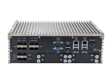 MilEdge Fanless Server with Front Access SSD