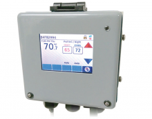 NT-550MIL Front View of Smart Network Thermostat
