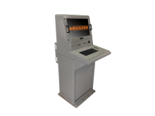 Shipboard Console Standing SIngle Display